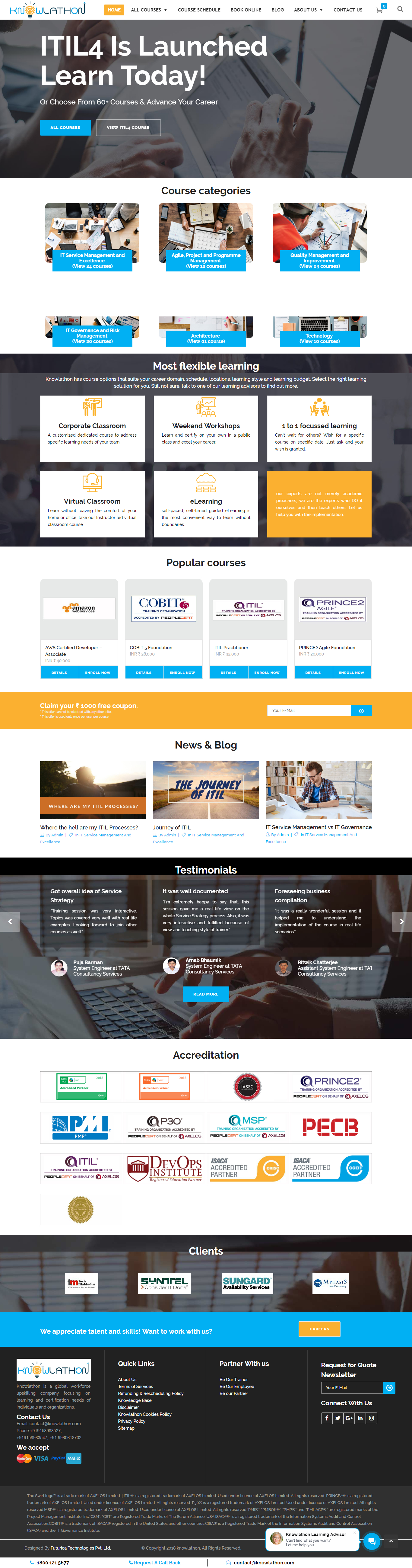 Certification Company Website